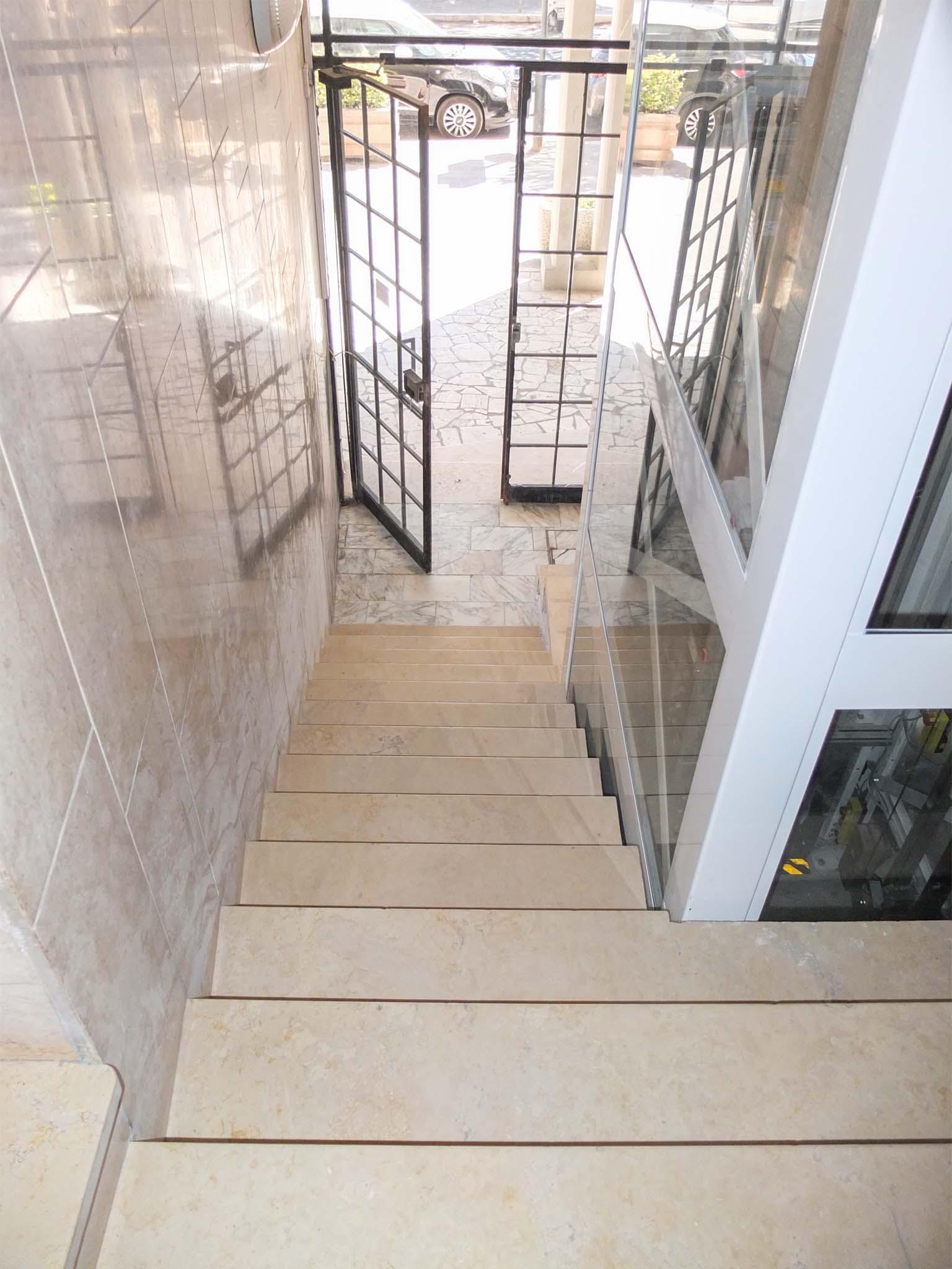 Taglio Solaio Per Scala condominio santa marinella – manutenzione edilizia – opa